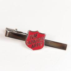 Slipsnål med röd engelsk sköld (endast för medlemmar)