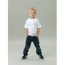 T-shirt Barn, vit, Barn till en Kung