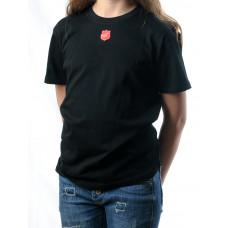 Barn t-shirt med sköld mitt fram