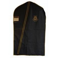 Plastskydd till uniform, mörkblå